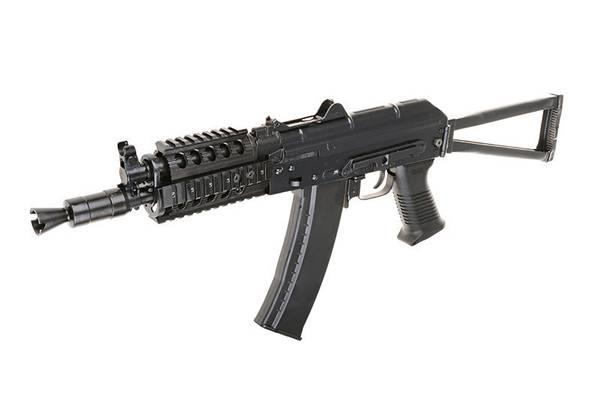 Bilde av E&L - AKS74UN-A Elektrisk Softgunrifle Full Metall Proline - Sva
