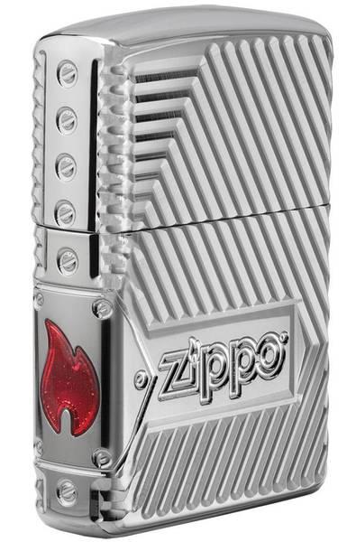 Bilde av Zippo - Bolt Design - Armor 360 Degree Limited