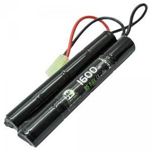 Bilde av Batteri NiMH 9.6V 1600mAh - Cranestock/Nunchuck - Liten Plugg