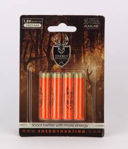 Bilde av Energy Hunting - AAA Batteri - 4stk