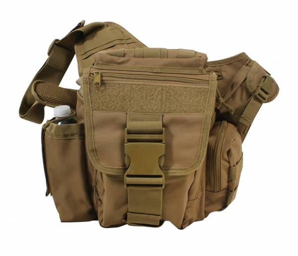 Bilde av Advanced Tactical Bag Polyester - Coyote Tan