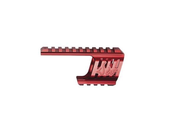 Bilde av Custom CNC Railmontasje til Dan Wesson 715 - Rød