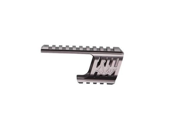 Bilde av Custom CNC Railmontasje til Dan Wesson 715 - Grey