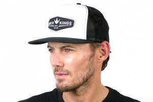 Bilde av Bunker Kings Trucker Crown Patch Cap - Black/White