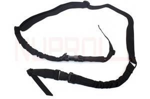 Bilde av Two Point Bungee Sling - 1000D Cordura - Black