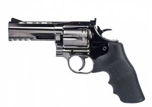 Bilde av Dan Wesson 715 4inch Revolver - Steel Grey - 4.5mm BB