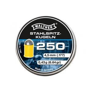 Bilde av Walther Steel Pointed Spisse - 4.5mm - 250stk