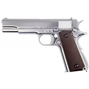 Bilde av WE - 1911 Matte Chrome - Blowback