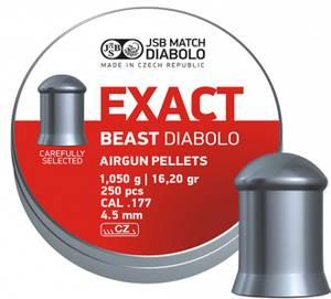Bilde av JSB Exact Beast - 4.52mm - 250stk