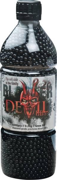 Bilde av Blaster Devil 0.20g Sort - 3000stk