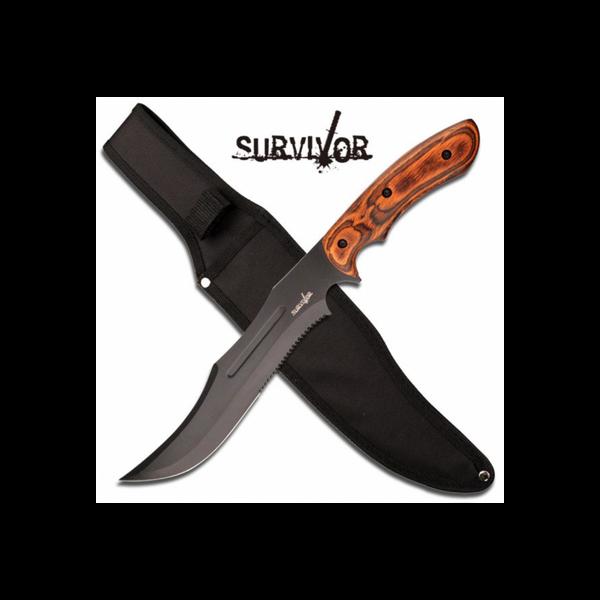 Bilde av Survivor Hunting Knife - Pakkawood