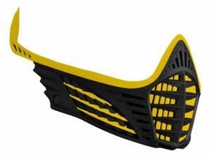 Bilde av Virtue VIO Facemask - Yellow/Yellow/Black