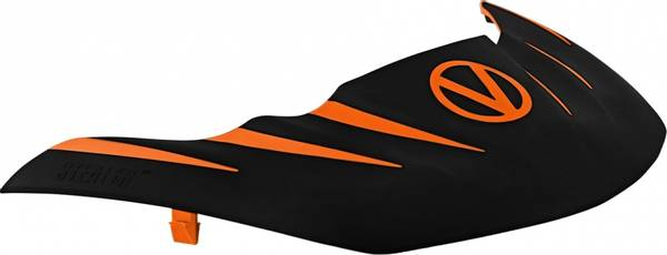 Bilde av Virtue VIO Stealth Visor - Orange/Black
