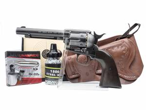 Bilde av Colt Peacemaker SAA .45 - 4.5mm BB - Antique - PAKKE