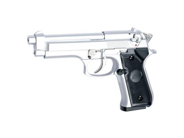 Bilde av ASG M92F Gass Softgun - Svart/Sølv