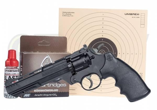 Bilde av Crosman Vigilante Revolver - 4.5mm/BB - MINIPAKKE