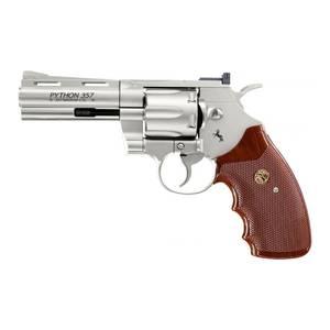 Bilde av Colt Python 4 - Nickel - 4.5mm BB Luftpistol