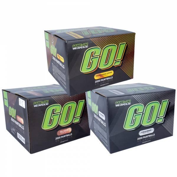 Bilde av GO! Paintballs - Mixed - Gold/Bronze/Silver
