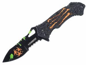 Bilde av Zombie Hunter Biohazard Foldekniv - Orange