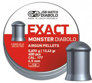 Bilde av JSB Exact Monster - 4.52mm - 400stk