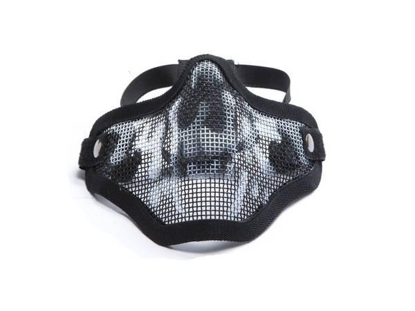 Bilde av Mesh Maske med Gitter - Skull