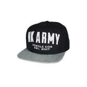 Bilde av HK Army Varsity Snaphat - Black/Gray