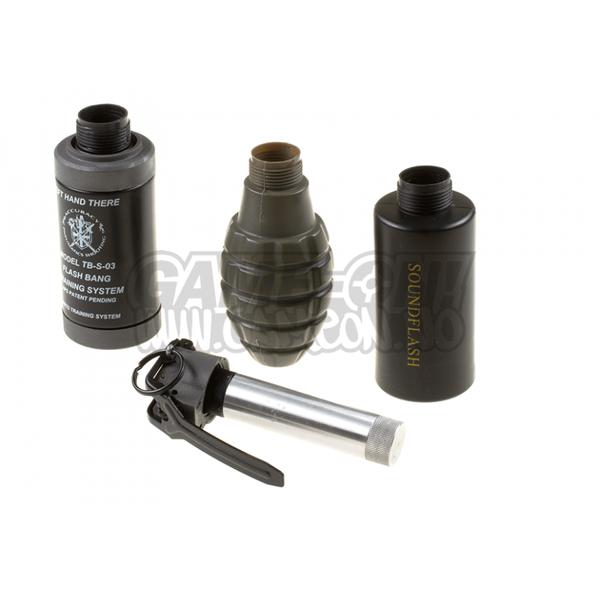 Bilde av Thunder B - Sound Grenade Set Pinapple Shell - Co2