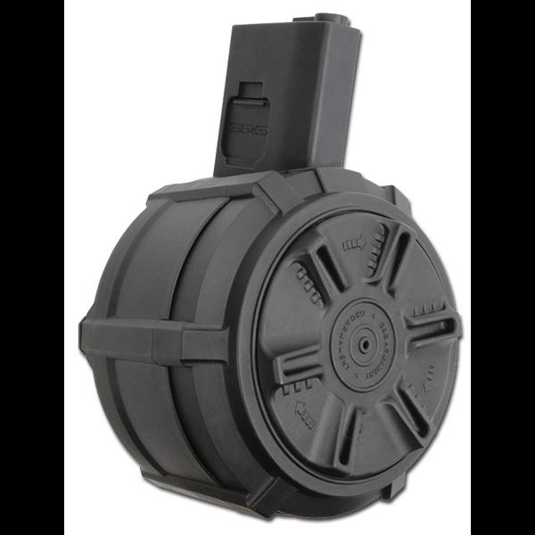 Bilde av G&G - 2300 skudds Automatisk Drum Mag til M4/M15/M16