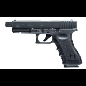 Bilde av Glock 17 Luftpistol - 4.5mm Dual Ammo - Gjenget Løp