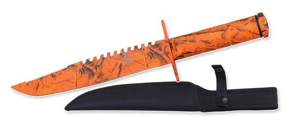 Bilde av Snake Eye - Survival Kniv - Orange Camo