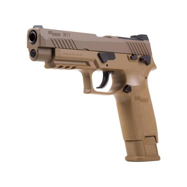 Bilde av Sig Sauer - M17 P320 ASP Luftpistol 4.5mm Pellets - Tan