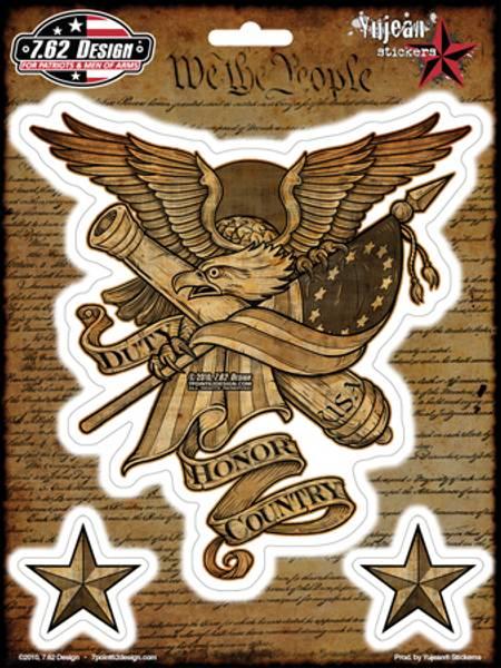 Bilde av Duty, Honor, Country - Klister