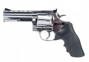 Bilde av Dan Wesson 715 4inch Revolver - Sølv - 4.5mm Pellets