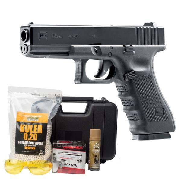 Bilde av Glock 22 Gen4 - Co2 Drevet Softgun - GNB - PAKKE