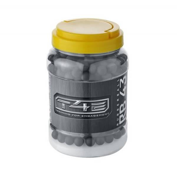 Bilde av Gummikuler til T4E - 500stk - 0.43CAL