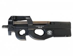 Bilde av FN P90 Elektrisk Airsoftrifle med Batteri og Lader - Svart