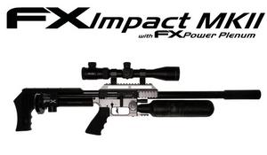 Bilde av FX Impact MKII - 6.35mm PCP Luftgevær - Sølv (REGISTRERINGSPLIKT