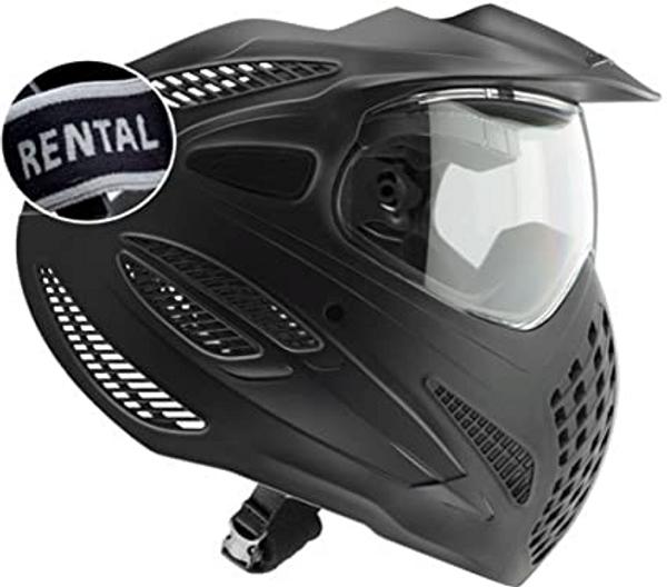Bilde av DYE Rental SE - Paintballmaske med Dobbeltglass - Svart