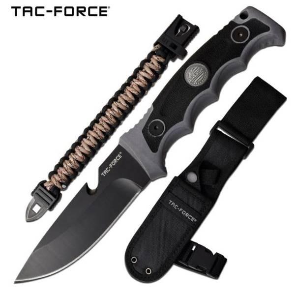 Bilde av TF - Taktisk Overlevelseskniv med Slire og Paracordarmbånd