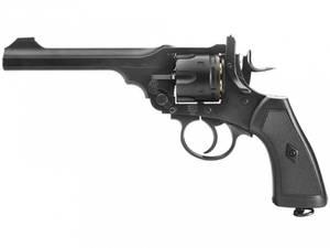 Bilde av Webley - MKVI Service Revolver - 4.5mm BB Luftpistol - Sort