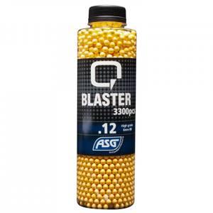Bilde av Q-Blaster 0.12g Softgunkuler - 3300stk