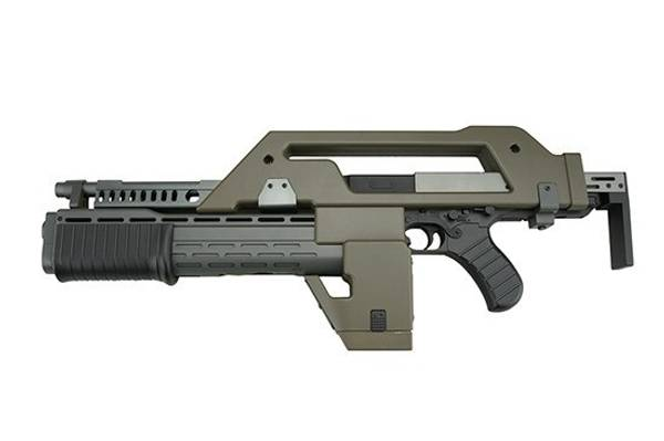 Bilde av SW- M41A Alien Hunter Elektrisk Softgun Rifle - OD