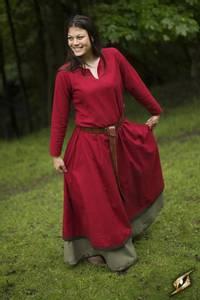Bilde av Basic kjole - Rød