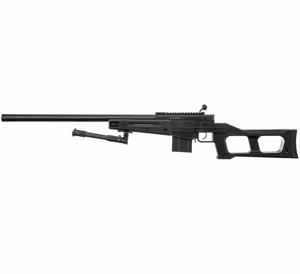 Bilde av Swiss Arms - SAS 08 Softgun Sniper med Tofot - Fjærdrevet - Svar