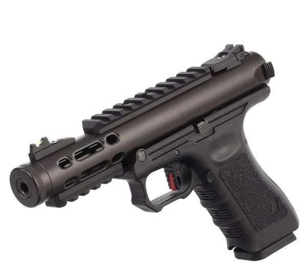 Bilde av WE - Galaxy Gassdrevet Softgun Pistol GBB - Svart