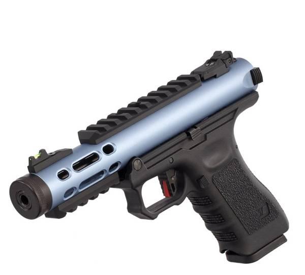 Bilde av WE - Galaxy Gassdrevet Softgun Pistol GBB - Blå