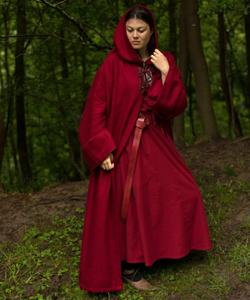 Bilde av Benedict kappe - Rød - XS/S