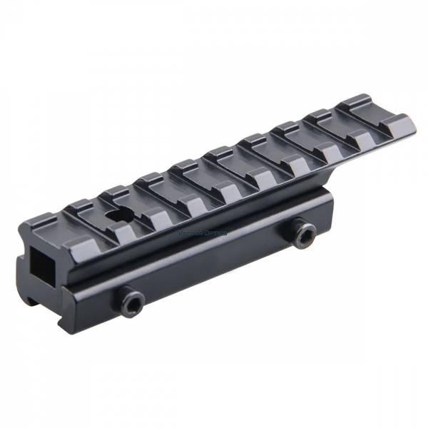 Bilde av Adapter - 11mm Dovetail til 21mm Weaver - Xtra lang
