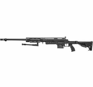 Bilde av Swiss Arms - SAS 12 Softgun Sniper med Tofot - Fjærdrevet