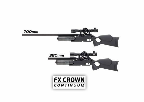 Bilde av FX Crown MKII Continuum - 6.35mm PCP Luftgevær - Syntetisk